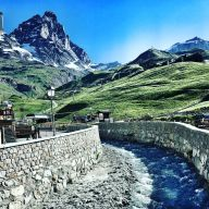 Early morning in Cervinia